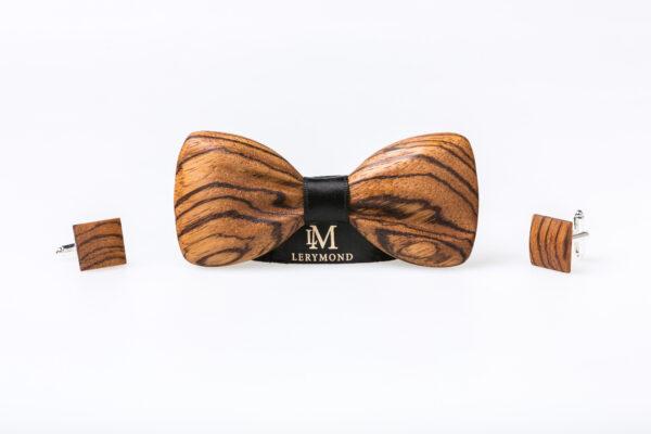 Drewniany zestaw Lerymond parthenos zebrano