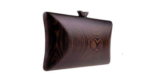 Drewniane torebki - kopertówki