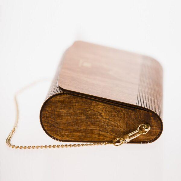 drewniana torebka damska Diana merbau