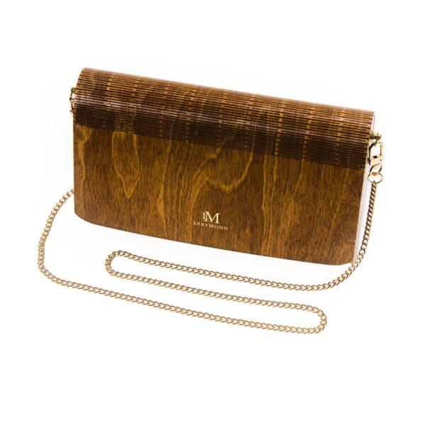 merbau - drewniana torebka damska Diana