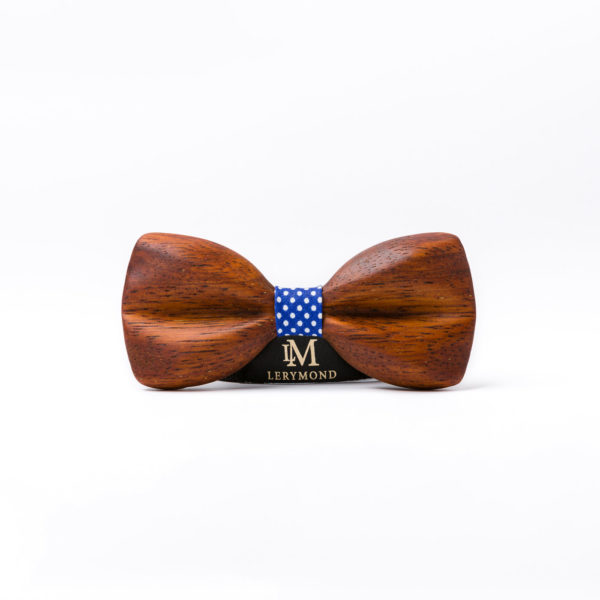 drewniana muszka morpho Lerymond