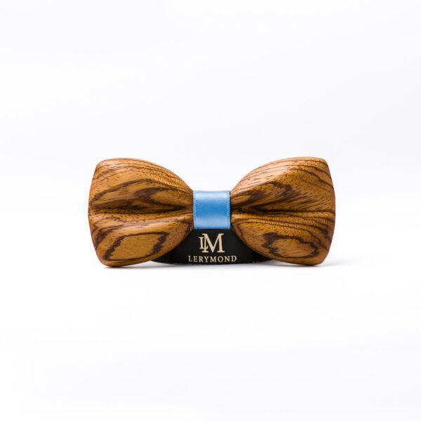 drewniana muszka męska morpho Lerymond
