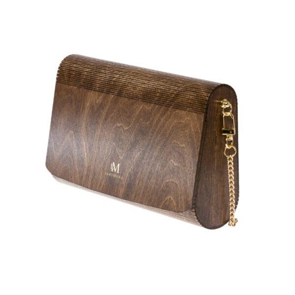 drewniana torebka damska Diana palisander jasny