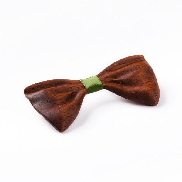 drewniana mucha papilio marki Lerymond z drewna merbau