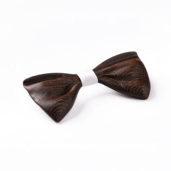 drewniana muszka model papilio afrykańskie drewno wenge Lerymond
